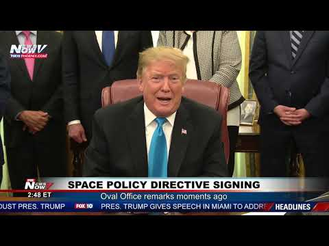 OVAL OFFICE REMARKS: President Trump on Sanders, North Korea, The Wall (FNN)