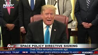 OVAL OFFICE REMARKS: President Trump on Sanders, North Korea, The Wall (FNN)