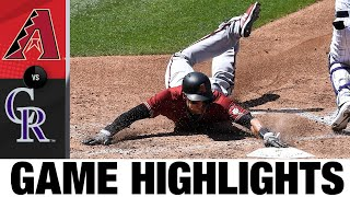 Starling Marte, D-backs power past Rockies | D-backs-Rockies Game Highlights 8/12/20