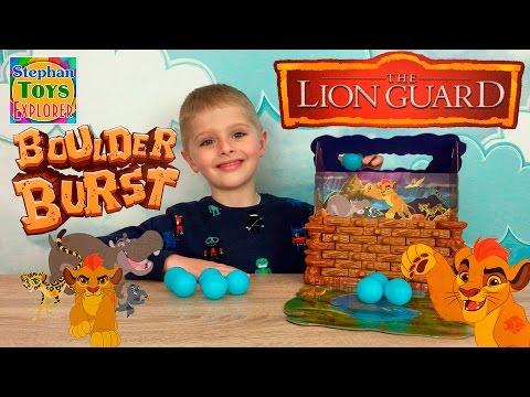 Настольная Игра: [Хранитель Лев - Прорыв Плотины]! // The Lion Guard Boulder Burst Game Unboxing