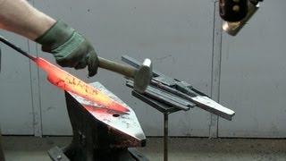 Forging A Kabab Barg Knife