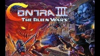 Vídeo Contra III: The Alien Wars CV