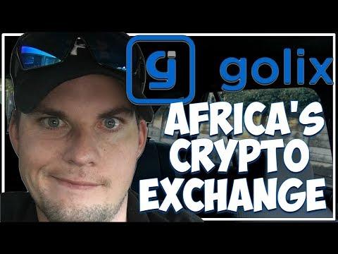 Africa's Crypto Exchange Golix.io.