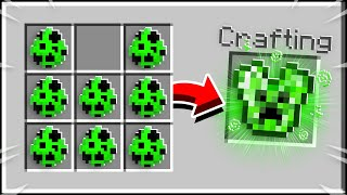Minecraft, But You CRAFT ARMOR Out Of ANYTHING...