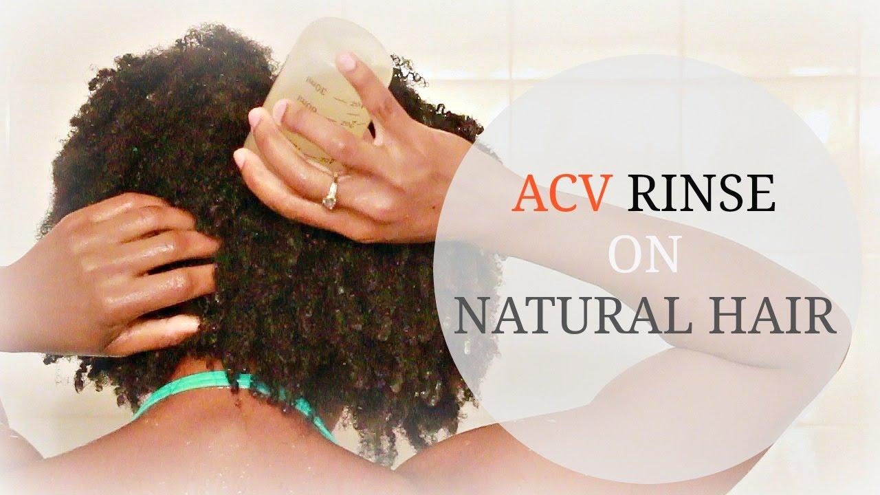 Acv Rinse Natural Hair