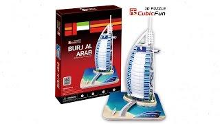"""""""Burj Al Arab"""" - Puzzle 3D"""