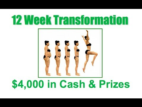 12 Week Transformation - Go Green Hangout Essante Organics
