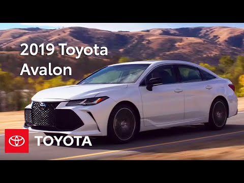 2019 Toyota Avalon: Walkaround & Features | Toyota