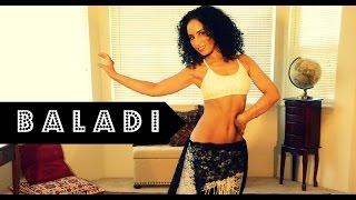 Belly dance rhythms: basic steps with the rhythm Baladi/Beledi