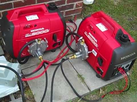 Hybrid battery backup with several generator options