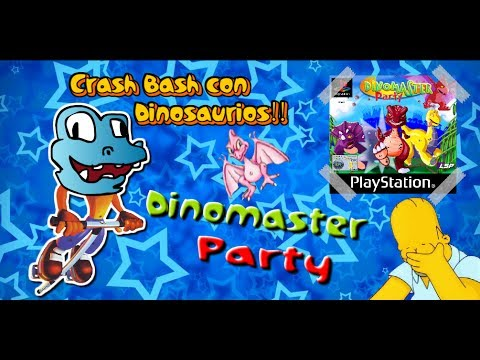 Los Peores Videojuegos del Mundo! - Dinomaster Party