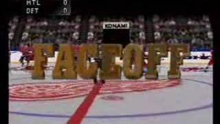 NHL Blades of Steel 99 N64 - Gameplay footage part 1 of 2