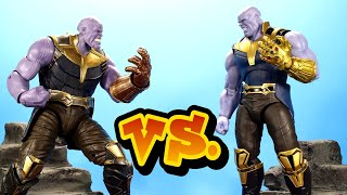 Marvel Legends VS S.H Figuarts: Infinity War Thanos