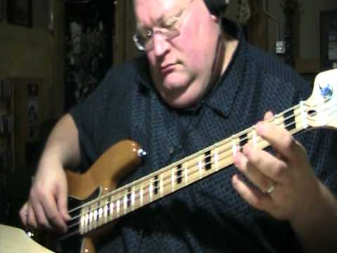 Dream Theater To Tame A Land Iron Maiden Bass Cover