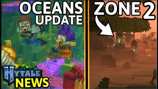 NEW Hytale Oceans & Zone 2 Images REVEALED | Scorpion & Witcher | Hytale News