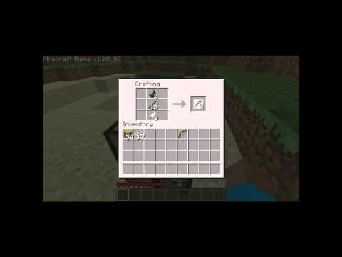 How To Craft A Fishing Pole Minecraft