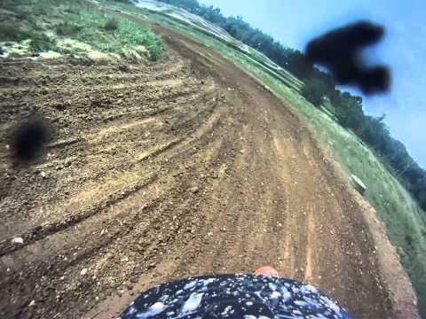 250C GoPro 15 Minute Moto...Broken Ankle
