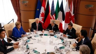 Trump, G-7 leaders clash over trade, NATO, climate