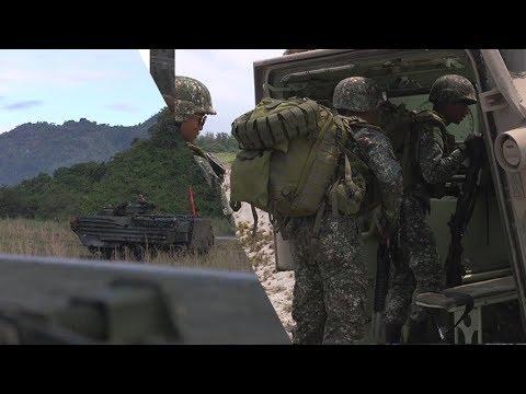 Balikatan 2018 - Philippine Marines and US Marines Conduct Amphibious Landing Exercise