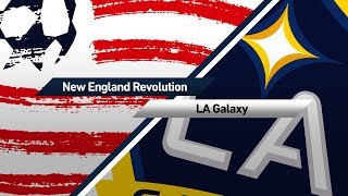 Video Gol Pertandingan New England Rev. vs La Galaxy