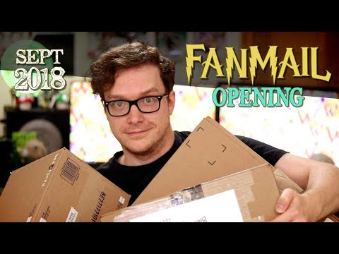 Harry Potter Fan Mail Opening! (Friend Mail) September 2018