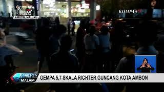 Gempa 5,7 SR Guncang Kota Ambon