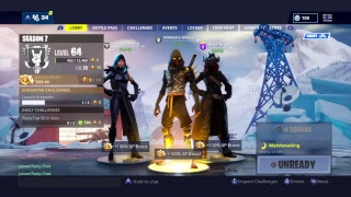 Fortnite 600+ wins Season 7 Grind/ New monitour. Squads with th he Gang