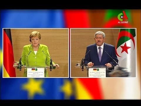 Ouyahia-Merkel: Résumé de la conférence de presse- Algérie Allemagne