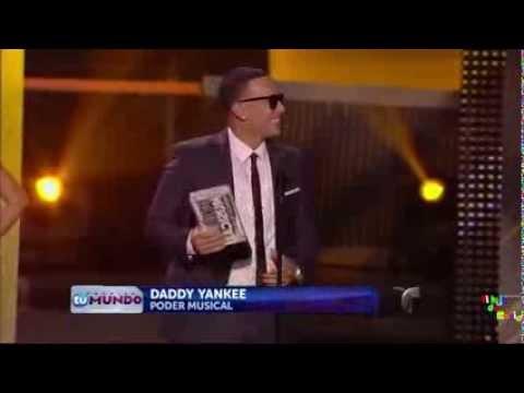 Daddy Yankee - agradece a La ''REPUBLICA DOMINICANA'' en Premios Tu Mundo (2013)