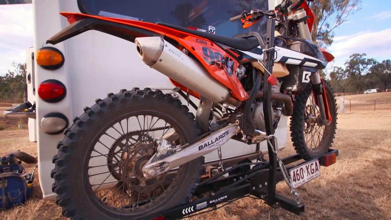 introducing ballard s motorbike rack carrier mxstore com au