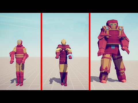 EVOLUTION OF IRONMAN - Totally Accurate Battle Simulator