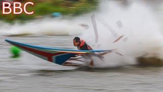 Thai longtail Racing boat Accident!! screenshot 4