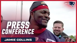 "Jamie Collins on OTA's: ""I'm grinding every day"""