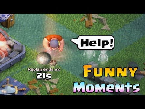 Clash of Clans Funny Moments Trolls Compilation #14   COC Montage