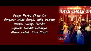 Party Chale on -- Race 3 full song