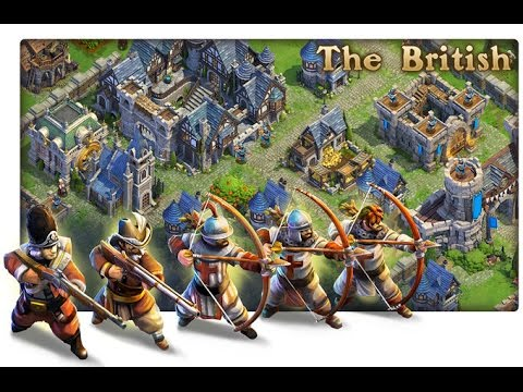 DomiNations : British Nations  - Industrial Age - Strong War Base Design Layout 9