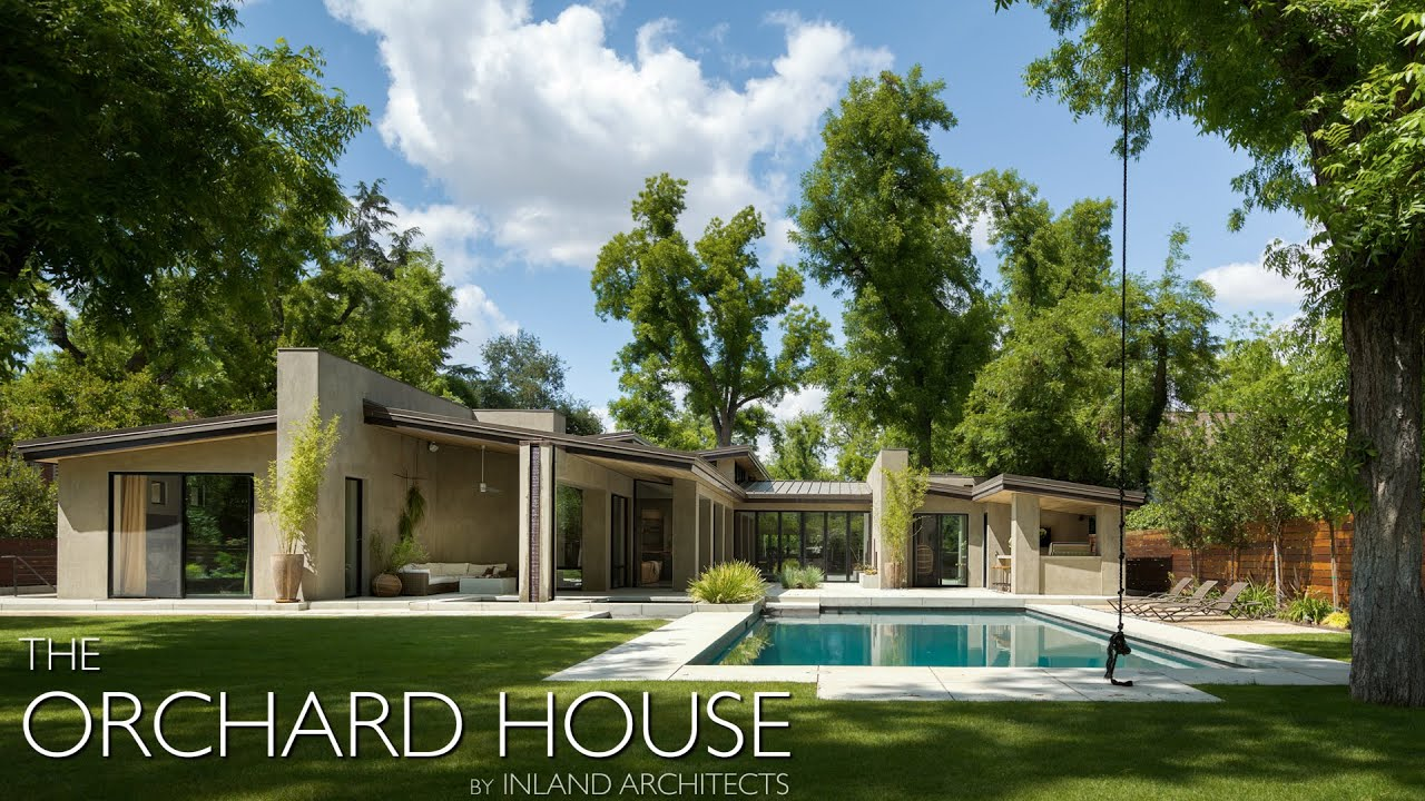 California Architecture Design #32 | The Orchard House by Inland Architects  | Bakersfield, CA