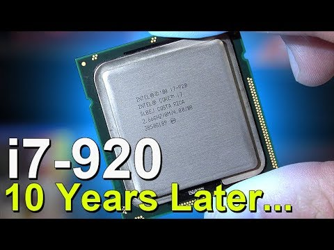 The Legendary Intel I7 920 First Core Tested 10 Years Later