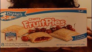 アメリカで大人気、そして有名なお菓子会社、ドレイクのフルーツパイで...