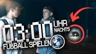 SPIELE NIEMALS UM 3 UHR NACHTS FUßBALL AUF DER STRAßE !!!