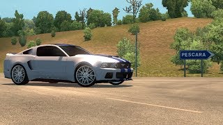 [1.30] Euro Truck Simulator 2 | Ford Mustang Need For Speed | Mods