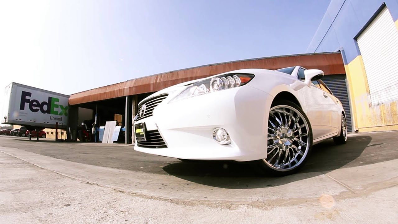 Lexus ES350 with Versante 208 wheels - YouTube