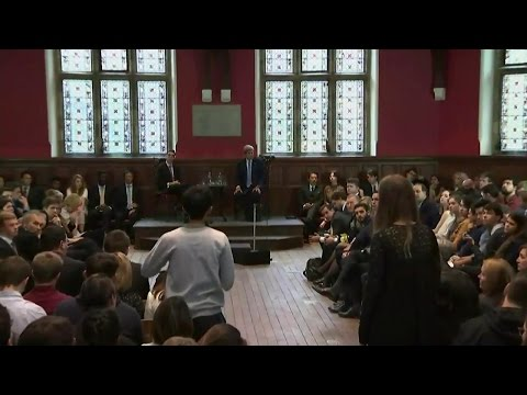 Secretary Kerry Participates in Q&A at Oxford Union, University of Oxford