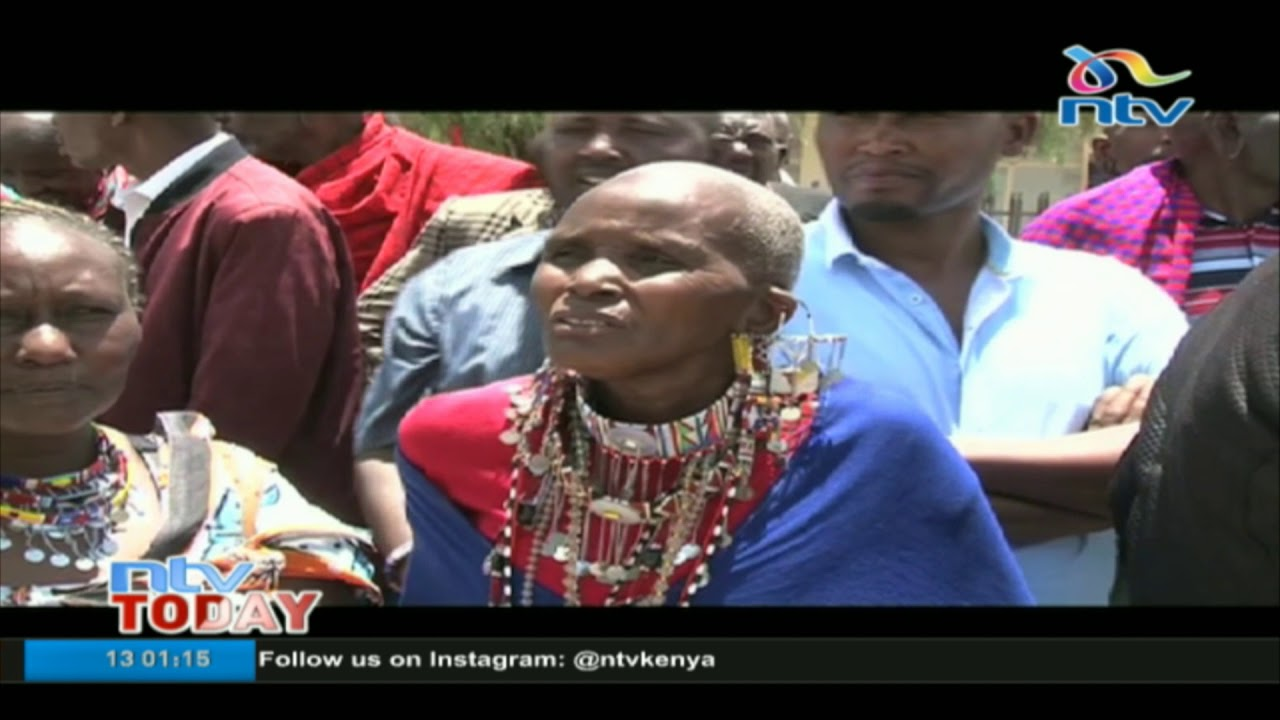 Kajiado herders hold demonstrations to urge the government to waive their AFC loans