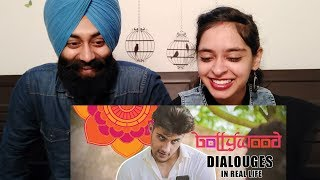 Indian Reaction on Bollywood Dialogues In Real Life By Our Vines & Rakx Production Ft.PunjabiReel TV