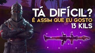 IS IT HARD? -TOP SOLO BRASIL-13 KILLS-423 WINS (Fortnite Battle Royale free) [EN-BR]-Softe
