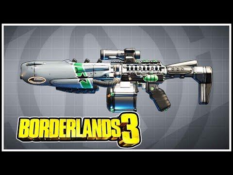 Bearcat Borderlands 3 Legendary Showcase