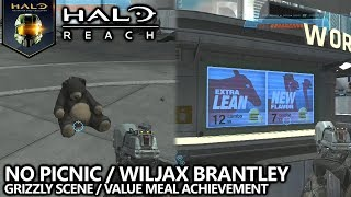 Halo Reach - No Picnic (Grizzly Scene) & The Humble Beginnings of Wiljax Brantley Achievement Guide