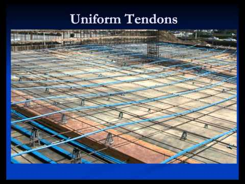 Post Tensioned Concrete Construction And Observation