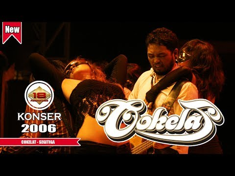 COKELAT - SEGITIGA | SUARA KIKAN BIKIN BAPERR ..(LIVE KONSER BONDAS BATU 2006)